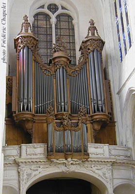 Grand Orgue Langhedul-Thierry-Clicquot de St-Gervais à Paris
