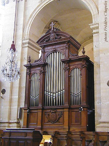 L'orgue de choeur Abbey 1837